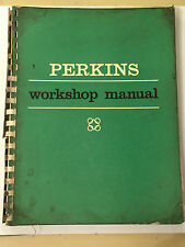 PERKINS 4.108 4-Cylinder 1760cc DIESEL ENGINE FACTORY WORKSHOP MANUAL 1966