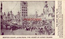 CENTER COURT LUNA PARK The Heart of CONEY ISLAND The Best Way To Go, take Subway