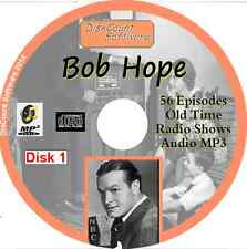 Bob Hope -  56   Old Time Radio Shows - Audio MP3 CD OTR