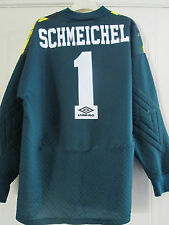 Manchester United 1994-1996 Schmeichel Goalkeeper Football Shirt Medium 40197