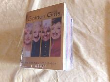 THE GOLDEN GIRLS - COMPLETE SERIES 1-7,DVD FORMAT, FREE SHIPPING.