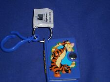 Vintage Disney Winnie The Pooh Pal Tigger Mini Notebook Key Chain/Pull Applause