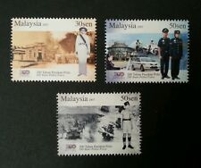 200 Years Police Force Malaysia 2007 Uniform Army Car Transport (stamp) MNH