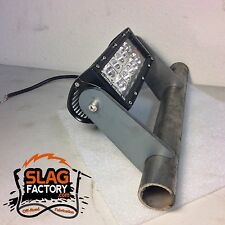 Led Light Bar Mount Tabs Weld On Fabricator Bracket Laser Cut Exo Bumper LARGE