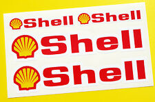 SHELL style Motorbike Motorcycle Fork and Fairning Decals Stickers