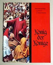 KÖNIG DER KÖNIGE *SOUVENIR-PROGRAMM-HEFT + 4 PHOTOS -SOUVENIR BOOK 1961  DEUTSCH