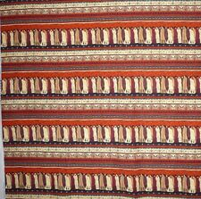 Southwest Fabric Native American By the Half Yard 1/2 Indian Beige Brown