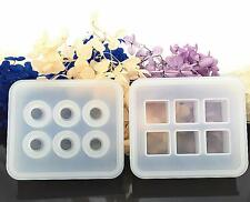 3D 16mm Cube/Ball Beads Cabochon Mold Mould Epoxy Resin Jewelry Pendant Making