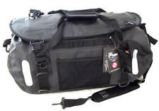 Motorcycle 100% waterproof luggage roll tail dry bag 45 litre black Amphibious