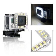 LED Fill Light Mount Gopro Hero 4 3+ Housing Lens FOR Go Pro Hero3+ 4 Camera