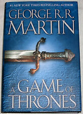 George RR Martin, A Game of Thrones 1, Hardcover 1st Edition Later Print VG