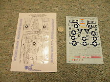 Superscale decals 1/48 48-882 P-51D-5 / 10 Mustangs 55th 79th 20th  K143