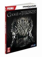 Game of Thrones: Prima Official Game Guide (Prima Official Game Guides), Searle,