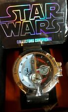 STAR WARS LIGHT SIDE / DARK SIDE LIMITED EDITION COLLECTORS WATCH NO. 110 of 500