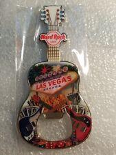 LAS VEGAS HOTEL,Hard Rock Cafe,MAGNET BOTTLE GUITAR V15