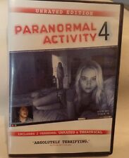 Paranormal Activity 4 (DVD, 2013, Unrated Director's Cut)