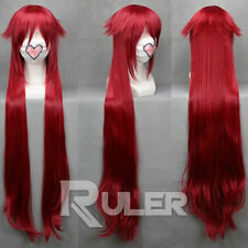 90CM Anime Black Butler Grell Sutcliff Red Cosplay Wig COS-194A