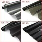 500mm x 6m Window Tint Film Black 5% 15% 30% 35% Roll VLT 2 PLY Auto Car Glass