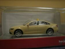 Herpa PKW Audi A6 Limousine Taxi