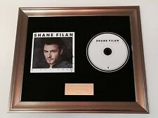 SIGNED/AUTOGRAPHED SHANE FILAN - RIGHT HERE FRAMED CD PRESENTATION.WESTLIFE