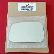 NEW Mirror Glass + ADHESIVE 04-09 TOYOTA PRIUS Driver Left Side LH **FAST SHIP**