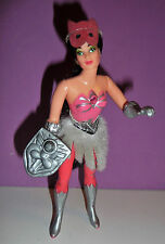 SHE RA PRINCESS OF POWER MOTU SCRATCHIN' CATRA PINK GEM VARIANT MATTEL 1985 RARE