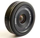 Canon EF 40mm F2.8 STM Pancake Black Lens Digital Camera Lens