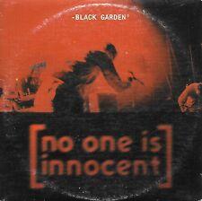 NO ONE IS INNOCENT - Black garden - CD PROMO