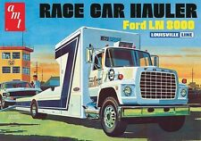 AMT Ford LN 8000 Race Car Hauler 1/25 model kit new 758