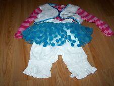 Size 2-4T Lalaloopsy Doll Mittens Fluff N Stuff Halloween Costume EUC