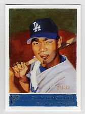 2001 Topps Gallery #115 Chin-Feng Chen Dodgers SP BV$3