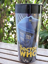 Doctor Who 16 oz. Plastic Insulated Travel Mug Tardis Dalek Cyberman Vandor NEW