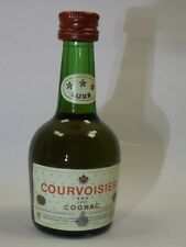 Cognac COURVOISIER 27ml  mini flaschen bottle miniature bottela mignonnette OLD