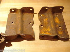 NOS MOPAR 1961-8 DODGE TRUCK W,D 100,200,300 REAR SHACKLE SUPPORT BRACKETS NWT!!