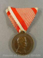 Österreich: Bronzene Tapferkeitsmedaille 9.Ausgabe Karl (1917-1918), Bronze 2281