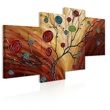 Unframed Canvas Prints Modern Home Decor Wall Art Picture-Large Rose Branch