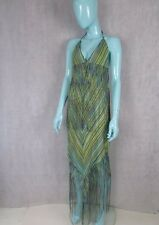 MISSONI TASSLE BEACH DRESS SIZE UK 10