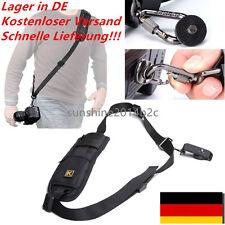 Schultergurt Profi Kameragurt Tragegurt für SLR Nikon Canon DSLR Antirutsch DE