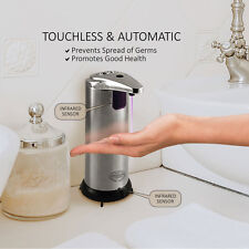 *NEW* PREMIUM Automatic Touchless Soap Dispenser Stainless Steel, Home or Office