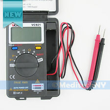 New! VICTOR Mini VC921 3 3/4 DMM Integrated Pocket Digital Frequency Multimeter