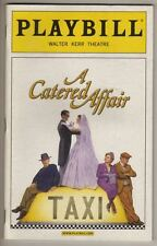 """A Catered Affair"" Broadway Playbill  2008  Faith Prince, Harvey Fierstein"