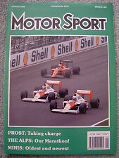 Motor Sport (Aug 1989) Vauxhall Carlton 3000 GSi, British, French & Canadian GPs