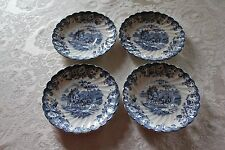 4 Johnson Brothers Ironstone Coaching Scenes  Hunting Country Saucers/ England