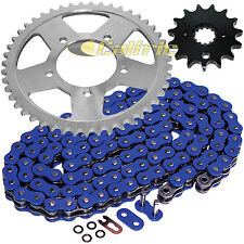 Blue O-Ring Drive Chain & Sprockets Kit Fits SUZUKI GSF600S Bandit 600 2000-03