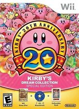 Kirby's Dream Collection: Special Edition [Nintendo Wii, 20th Anniversary] NEW