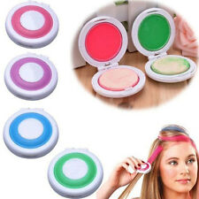 Hot Huez Hues Non-toxic Temporary Hair Chalk Dye Soft Pastels Salon Kit 4pcs