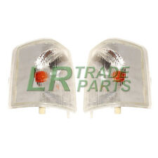 LAND ROVER DISCOVERY 1 FRONT CLEAR INDICATOR LIGHTS LAMPS PAIR X2 SET (1994-98)