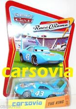 THE KING - Race O Rama 47 Piston Cup #43 Tuners Cars Disney Pixar Mattel Autos