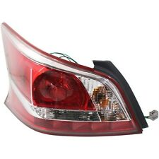 2013 2014 2015 NS ALTIM 4D SEDAN TAIL LAMP LIGHT LEFT DRIVER SIDE (W/O LED)