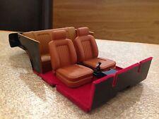 1/18 Sunstar Ford Escort MK2 Ghia Asientos Interior Marrón Modificado Tuning conversión